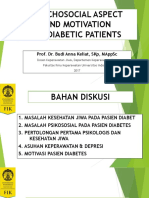 Psychososial Aspect and Motivation for Diabetic Patients. Prof.dr.Budi Anna Keliat,SKp.M.appsc