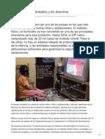 Contralinea -México Niños Violentados y Sin Derechos