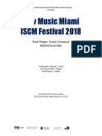 Miami Iscm 3-7 Rand Steiger Concert Program DRAFT