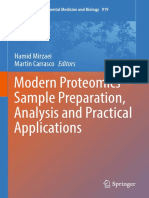 Modern Proteomics Sample Preparation Analysis and Practical Applications
