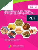 Buku 2 Konsumsi Kalori Dan Protein Penduduk Indonesia Dan Provinsi Berdasarkan Hasil Susenas Maret 2016