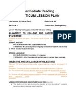 six trait lesson plan practicum