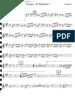 Sergio El Bailador by Mariachi Tenampa Trompetas 1 y 2
