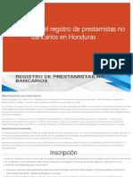 Inscripción en El Registro de Prestamistas