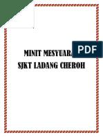 Cover Minit Mesyuarat