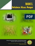 Modul Aplikasi Database Akses Pangan