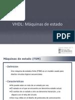 VHDL Maquinas de Estado