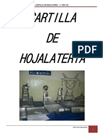 Cartilla de Hojalateria
