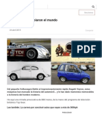 20 Autos- BBC Mundo