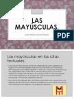 Letras Mayusculas.