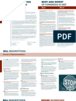 2007 Peace Action Scorecard