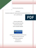 Act. 7 Propuesta de Medición y Mejoramiento de Clima Organizacional C & A