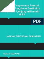 Contoh Penyusunan Formasi Jabatan Fungsional Perawat Gigi [Autosaved]