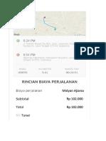Invoice Trip 1822018