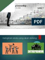 Pengantar Entrepreneurship Bagi Mahasiswa