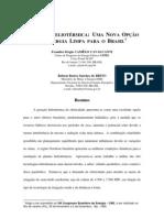 GERAÇÃO HELIOTÉRMICA- UMA NOVA OPÇÃO de eneria limpa para o Brasil