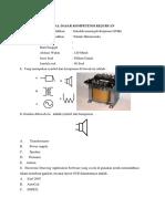 Soal Ujian Nasional Teori Kejuruan Teknik Mekatronika