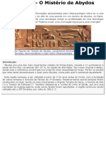 No Egito - O Mistério de Abydos
