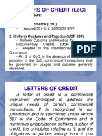 Speccom-letters of Credit
