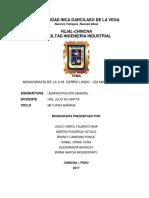 Monografía Cerro Lindo