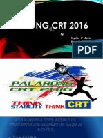 Palarong Crt 2016