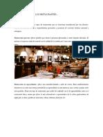 Clasificacion de Los Restaurantes