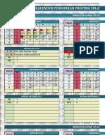 Kaldik Prov 2017 - 2018