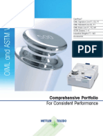 OIML and ASTM Calibration Weights