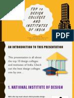 Top 10 Design Colleges and Institutes of India
