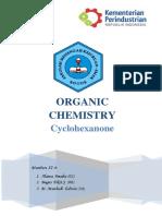 Makalah organik cyclohexanone