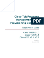 Cisco TMSPE Deployment Guide 1-0 With 14-1