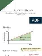 Aula de Modelos multifatoriais