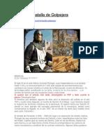 El Cid y La Batalla de Golpejera