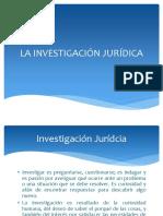La Investigación Jurídica