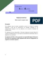Reglement Interieur Scolaria Excellence