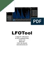LFOTool Manual | Computing | Technology