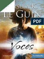 Voces - Ursula K. Le Guin