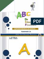 ABC de Educacion Financiera