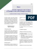 Maroc - Reglementation Changes