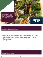 Historia de Zoologia