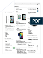 Apple - iPhone 4 - Size, Weight, Battery Life, And Other Specs