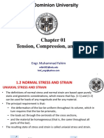Chap 01-Tension, Compression, And Shear