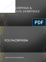 6-Polymorphism & Multilevel Inheritance