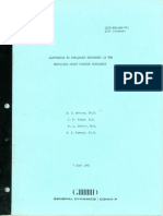 Convair - GD-C-ERR-AN-743 - Adaptation to Prolonged Exposures in the Revolving Space Station Simulator by Newsom Brady Shafer and French 6-7-65