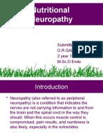 Nutritional Neuropathy