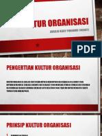 Ppt Kultur Organisasi_avrilio r