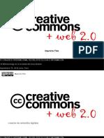 Licencias Creative Commons y Web 2.0