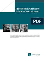 Best Practices in Graduate Student Recruitment 1