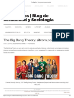 The Big Bang Theory_ Sitcom Posmodernista