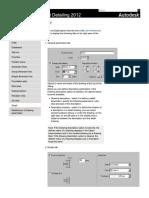 User's Guide - Formwork Drawings_ Detail